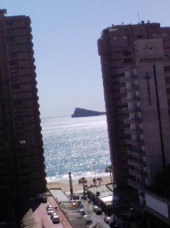 Benidorm Centre Hotel: View from the ninth floor