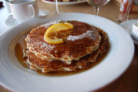 The Big 3 Diner: Lemon Cottage Cheese Pancakes