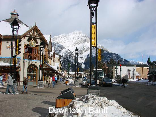 Downtown Banff Picture Of Banff National Park Canadian Rockies Tripadvisor