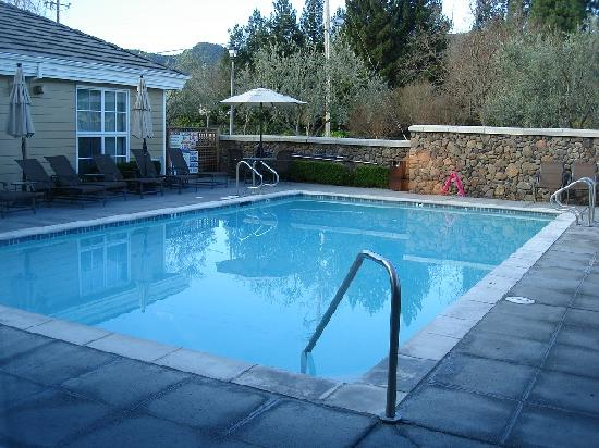 Yountville Inn Pool Picture Of Hotel Yountville Yountville Tripadvisor