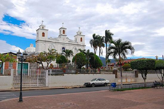 Ahuachapan, Salwador: Church Of Asuncion
