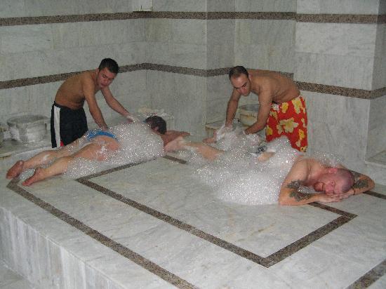 Julian Club Hotel : turkish bath