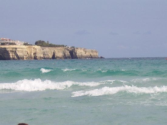 Apulien, Italien: Scogliera