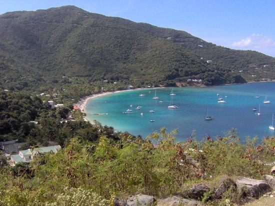 Tortola  Adası: Cane Garden Bay-Caribbean