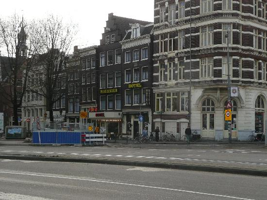 Hotel Prins Hendrik Photo From Across Street 2008