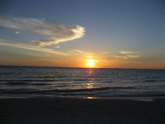 Eagle's Nest on Marco Beach: Sunset on the Beach