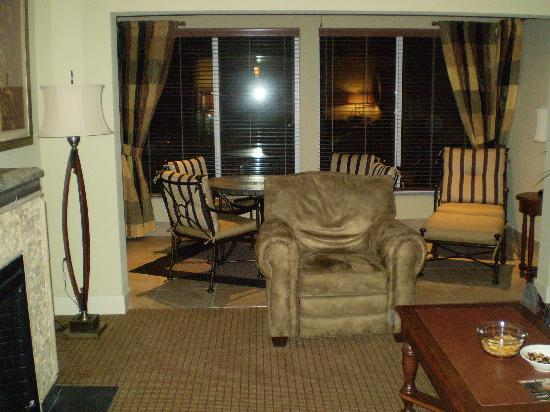 Suites at Fall Creek: Living Room
