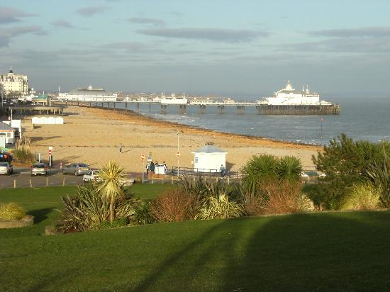 Eastbourne, UK: From Wish Tower slope