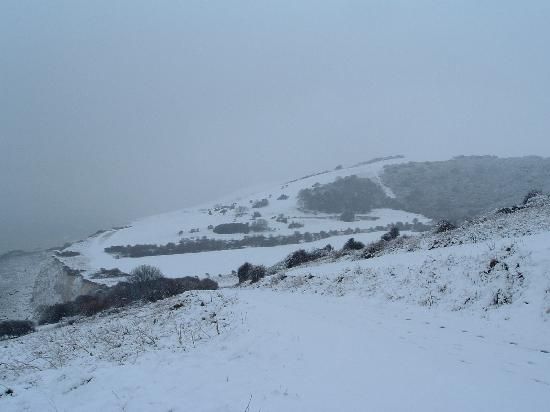 Snow!!!!!! in Eastbourne