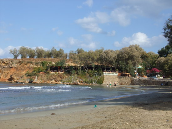 Maleme, Greece: quiet beach