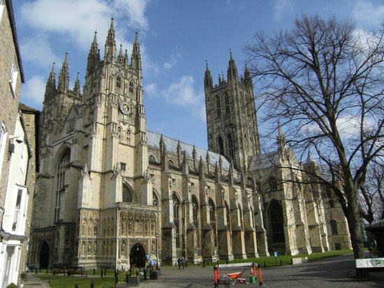 Canterbury, UK: First view
