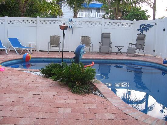 our pool at the blue dolphin inn