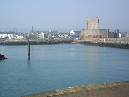 View of Carrickfergus from the castle