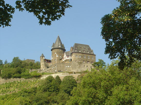 Bacharach, Germania: The castle