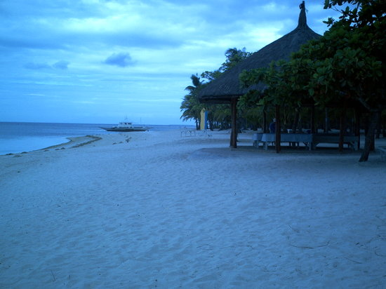 white sand Bohol beach club