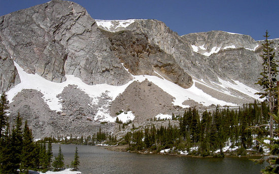 Laramie, WY: Medicine Bow Peak Lake