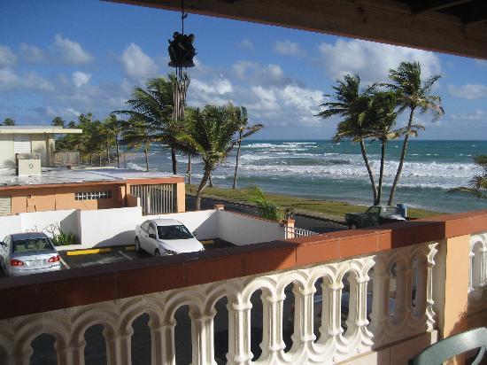 the beach picture of luquillo sunrise beach inn. Black Bedroom Furniture Sets. Home Design Ideas