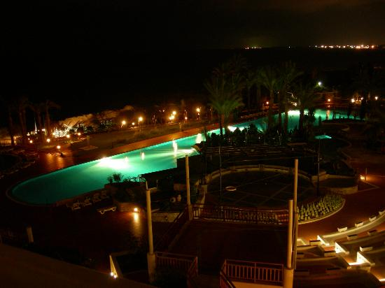 SENTIDO Perissia: View from 5524 at night