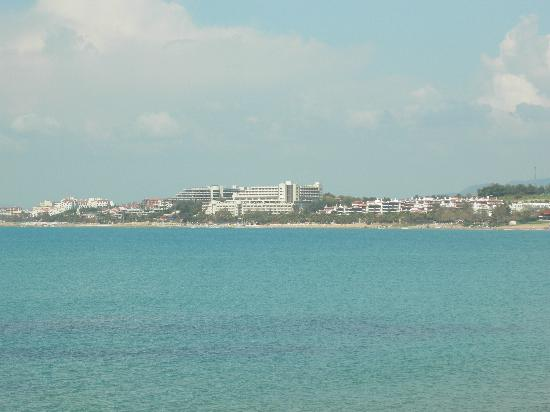 SENTIDO Perissia: View from Side (Perissia is far left)