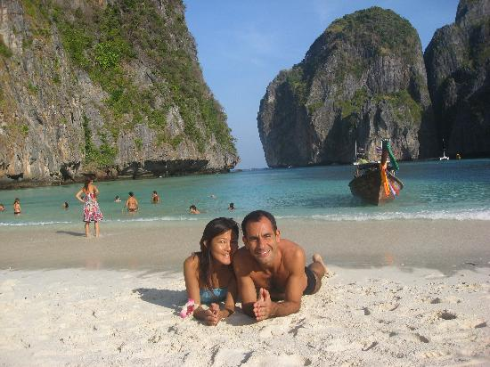 Ko Phi Don Thailand The Famous Maya Beach