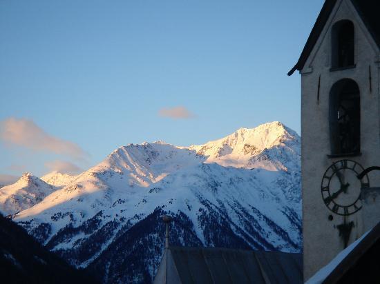 Boutique-Hotel Romantica Val Tuoi: view from Dach Studio window
