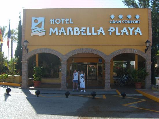 Marbella Playa Hotel: l'entrée