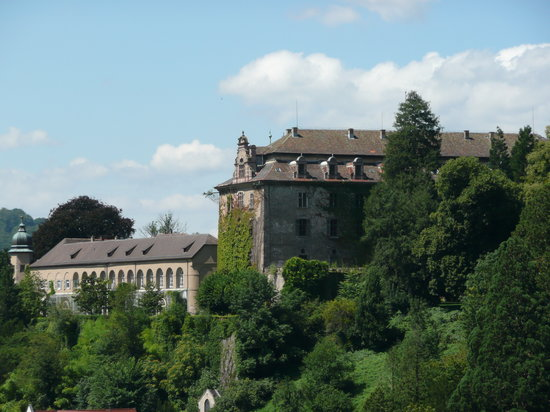 Baden-Baden, Tyskland: The New Castle -Neues Schloss-