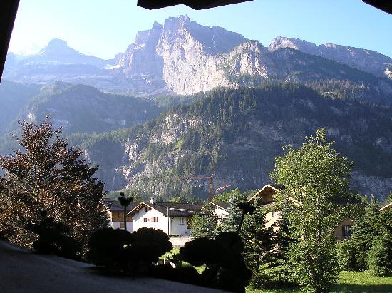 Alpina Hotel: view from balcony
