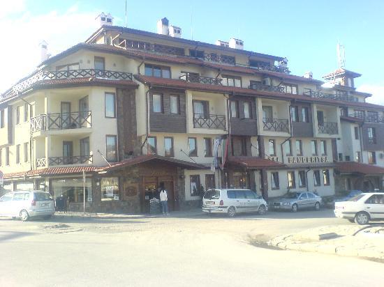 The hotel Banderitsa