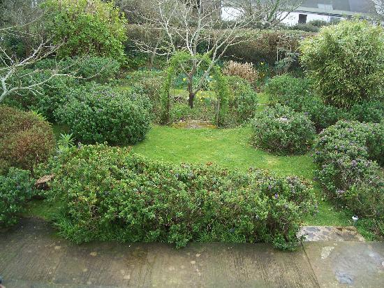 Le Vieux Clos - view of garden from our room!