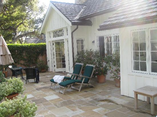 Oak Grove Cottage patio Picture of San Ysidro Ranch a Ty Warner