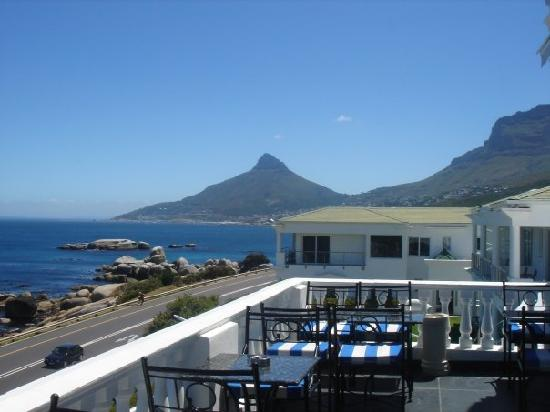 The Twelve Apostles Hotel and Spa: View from the Breakfast Terrace