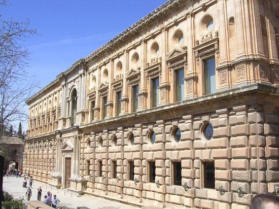 Granada, Spain: Palacio de Carlos V