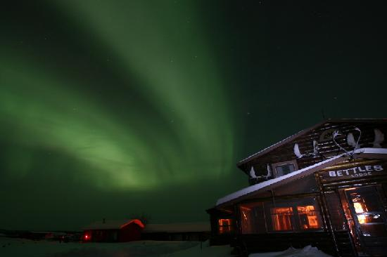 ‪‪Bettles Lodge‬: Northern Lights with Historic Bettles Lodge‬