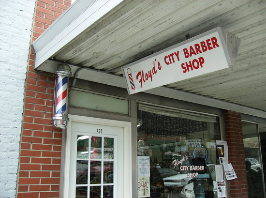 ‪Floyd's City Barbershop‬