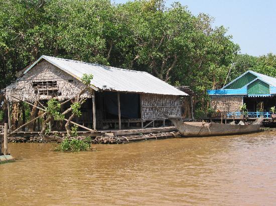 Siem Reap, Cambodia: Kompong Phhluk