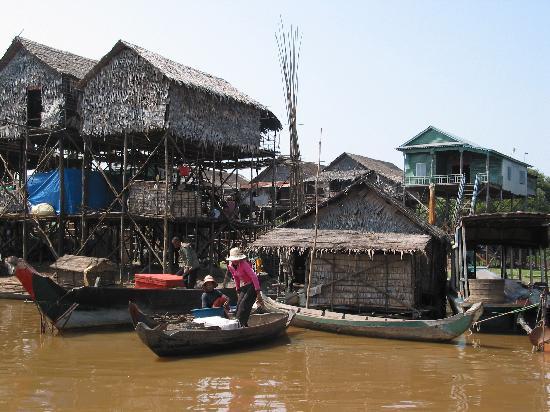 Siem Reap, Camboya: Kompong Phhluk