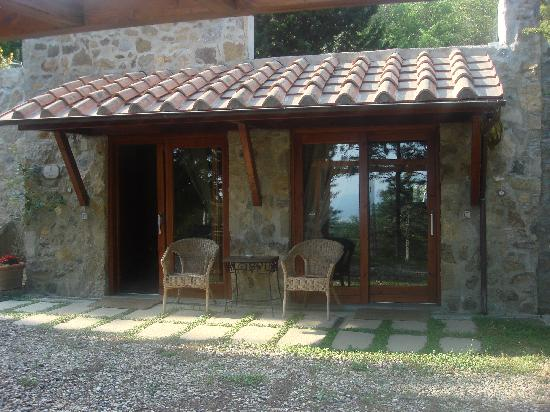 Florence La Paggeria B&B: the front of the chalet