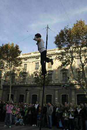 Barcelona, Spain: Street Performer