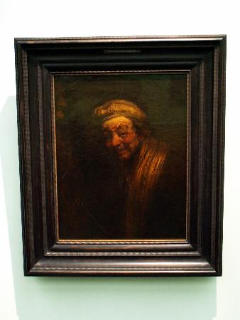 Rembrandt Self Portarit 1662 1663 Bild Von Wallraf Richartz