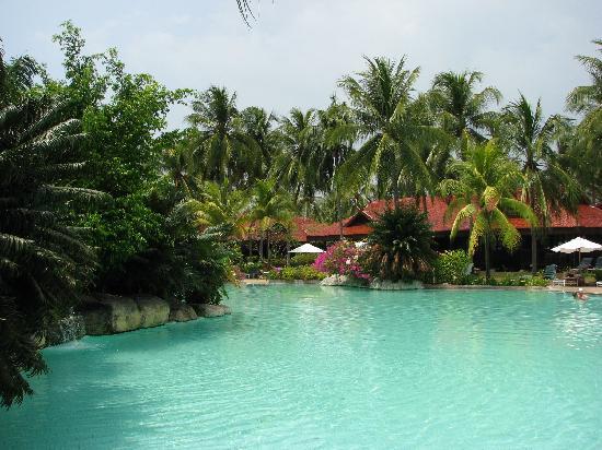 Meritus Pelangi Beach Resort & Spa, Langkawi: View of the pool
