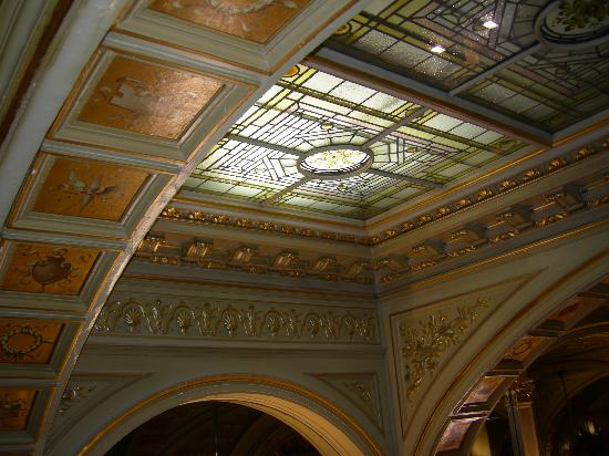Lobby Art Deco Ceiling Picture Of Hotel Metropole