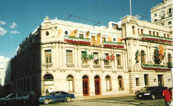 edificio del ayuntamiento, centro chihuahua