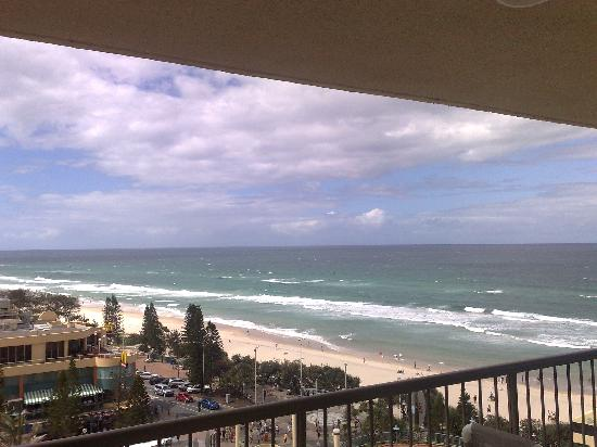 Paradise Centre Apartments: View from my Balcony