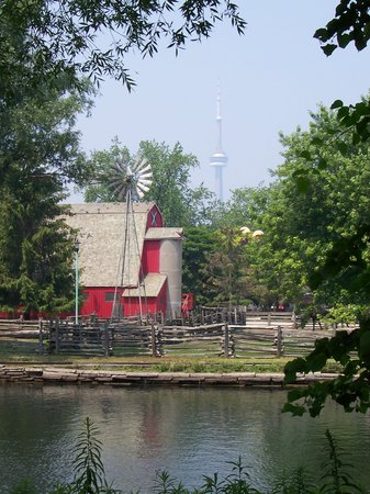 Toronto, Kanada: Kids' farm right in the heart of the city!