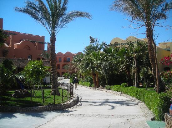 Jaz Makadi Saraya Resort: Looks like this all around the resort