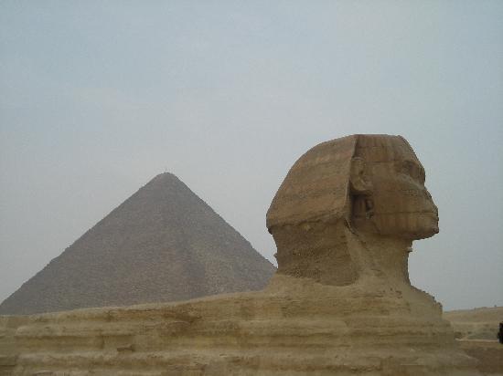 Jaz Makadi Saraya Resort: Great Pyramid and Sphinx in Cairo