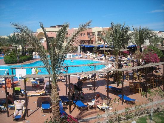 Jaz Makadi Saraya Resort: View from room balcony
