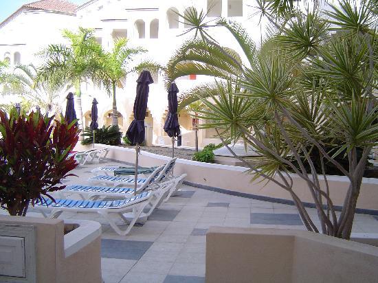 Saint George: View from veranda area