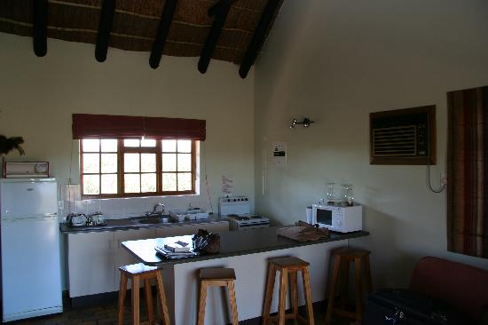 Addo Rest Camp: A fairly well equipped kitchen